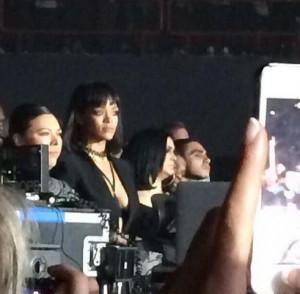 Rihanna au concert de Drake