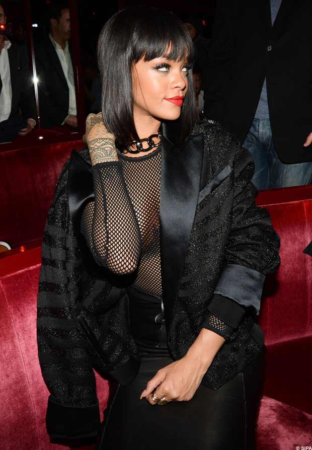 after balmain party rihanna crazy horse