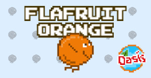 flafruit orange osasis remplace flappybird
