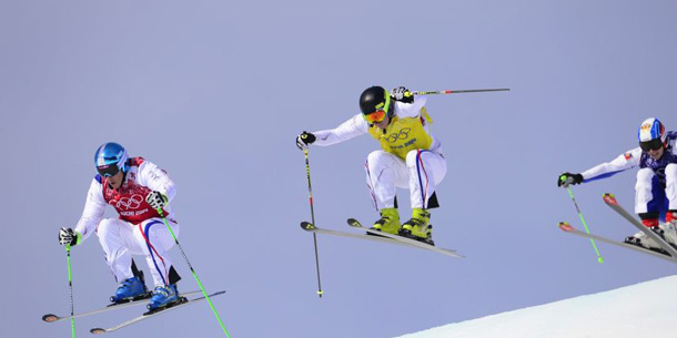 skicross triple historique france