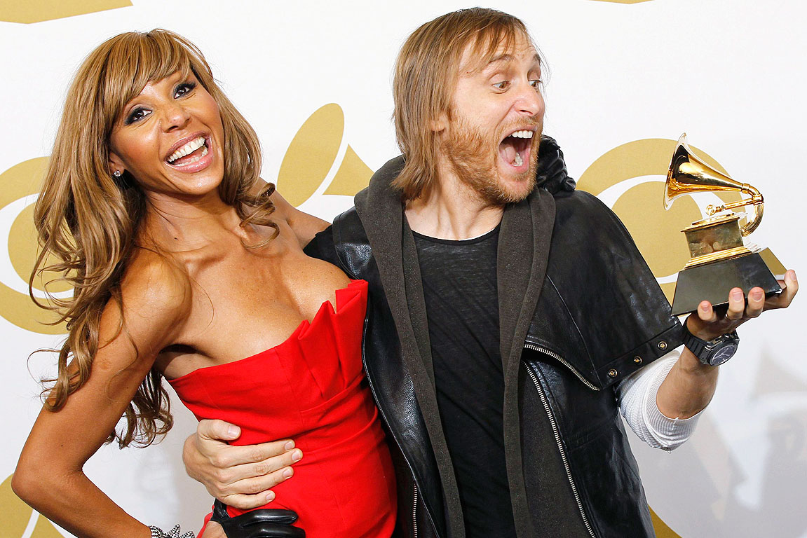 david et cathy guetta à los angeles
