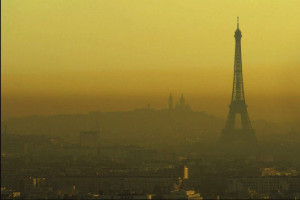 paris pollué