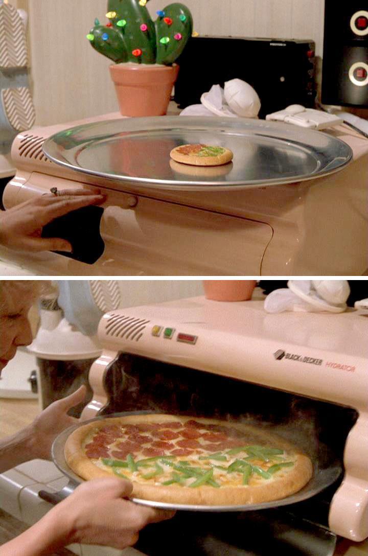 pizza hydratée de retour vers le futur 2