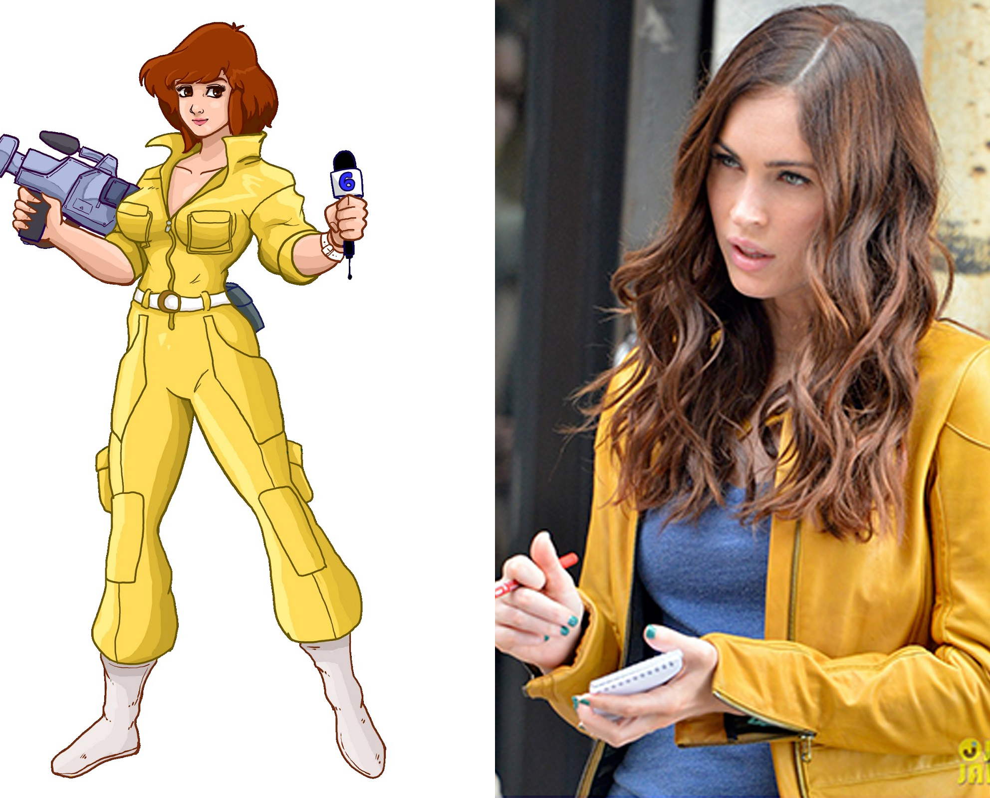 megan fox est april o'neil