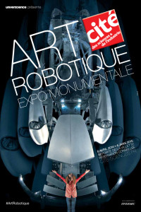affiche exposition art robotique