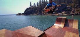 Bob Burnquis skate park eau rampe