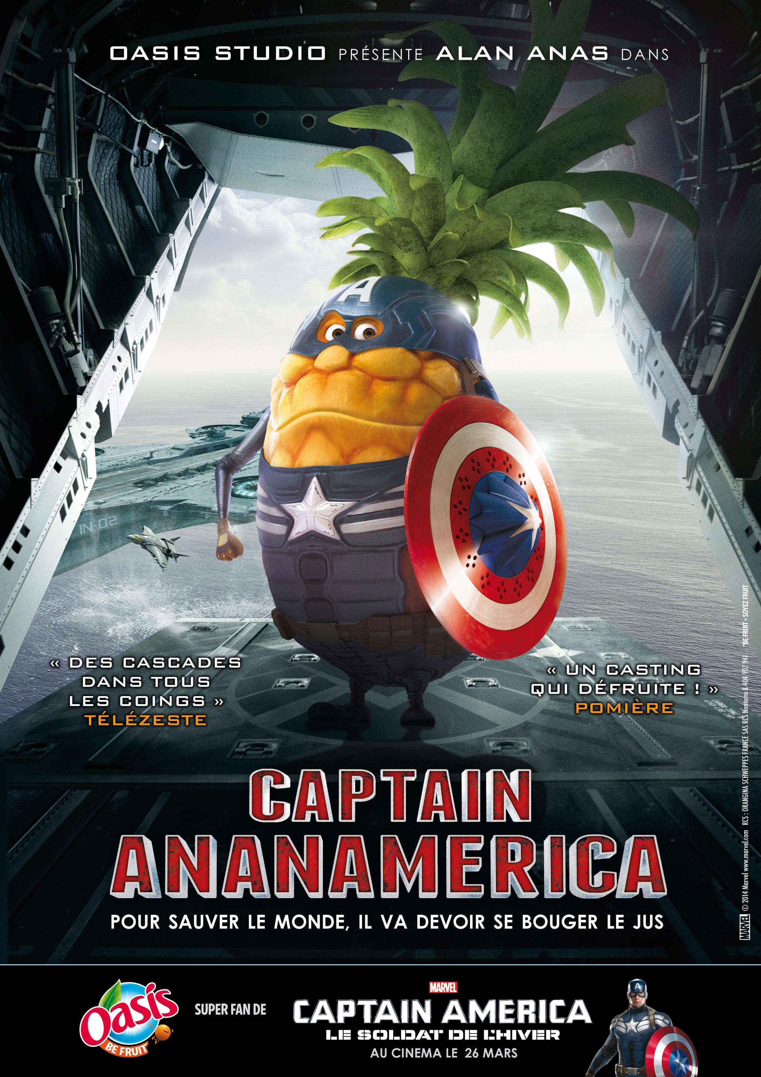 affiche captain ananamerica