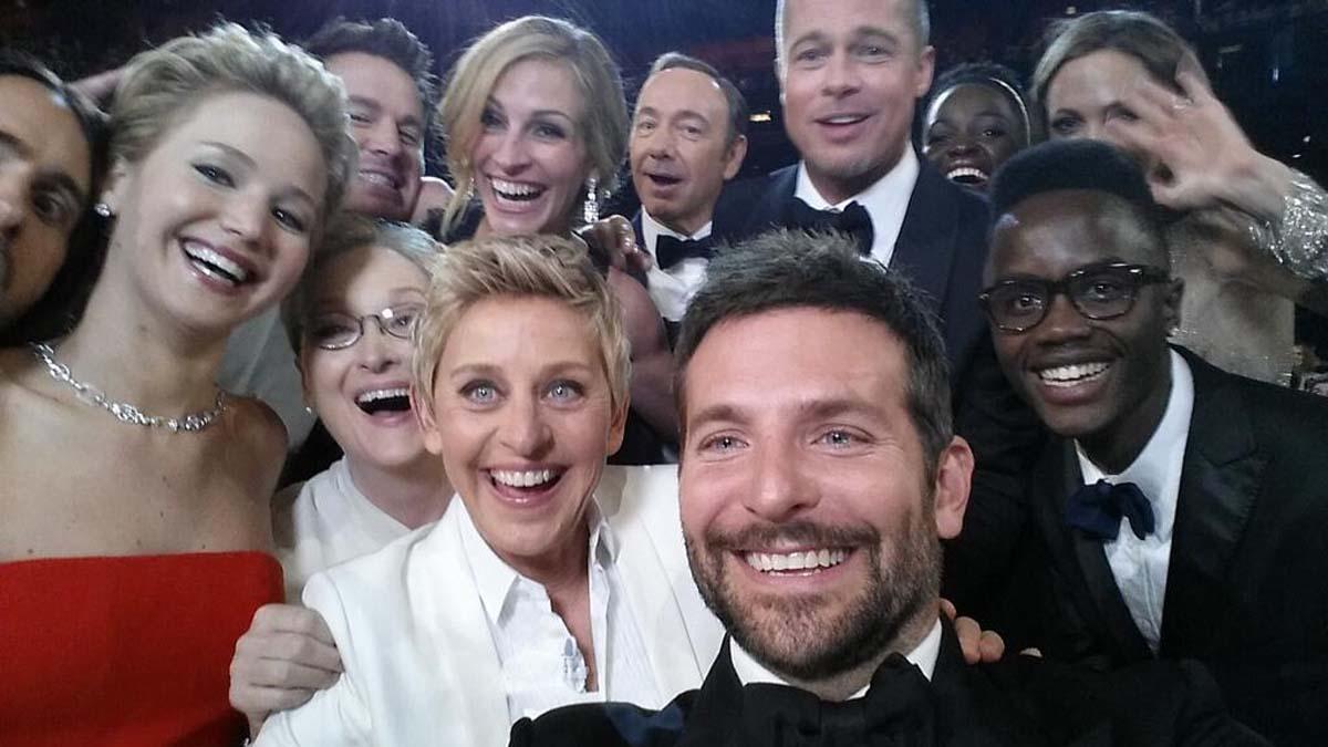 Ellen Selfie Oscars stars