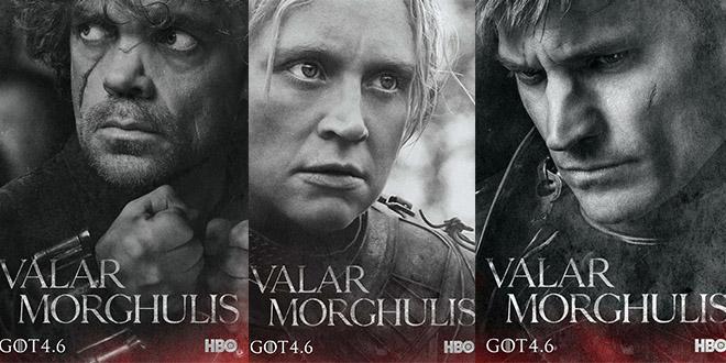 GOT saison 4 serie affiches