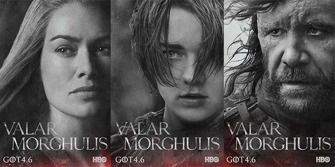 GOT season 4 affiches