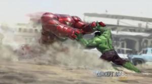 hulk contre iron man