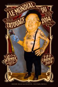 mondial du tatouage 2014 à la grande halle de la villette
