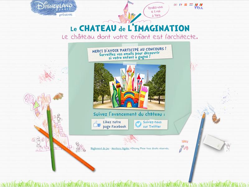 concours chateau disneyland paris