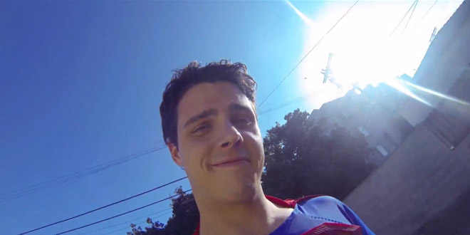 go pro camera superman