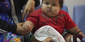 santiago bebe obese