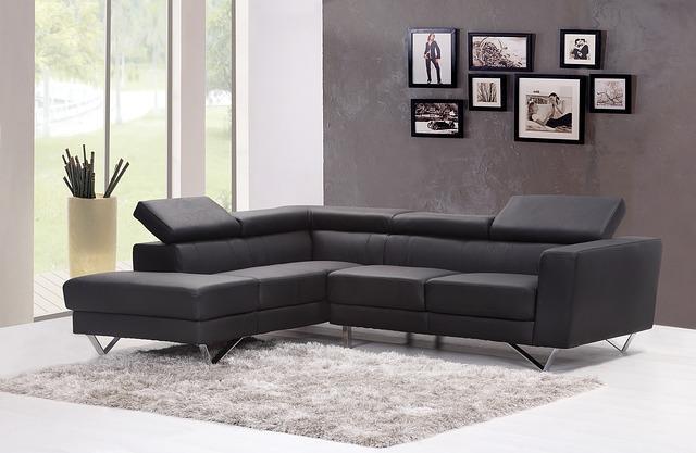 interieur design noir gris