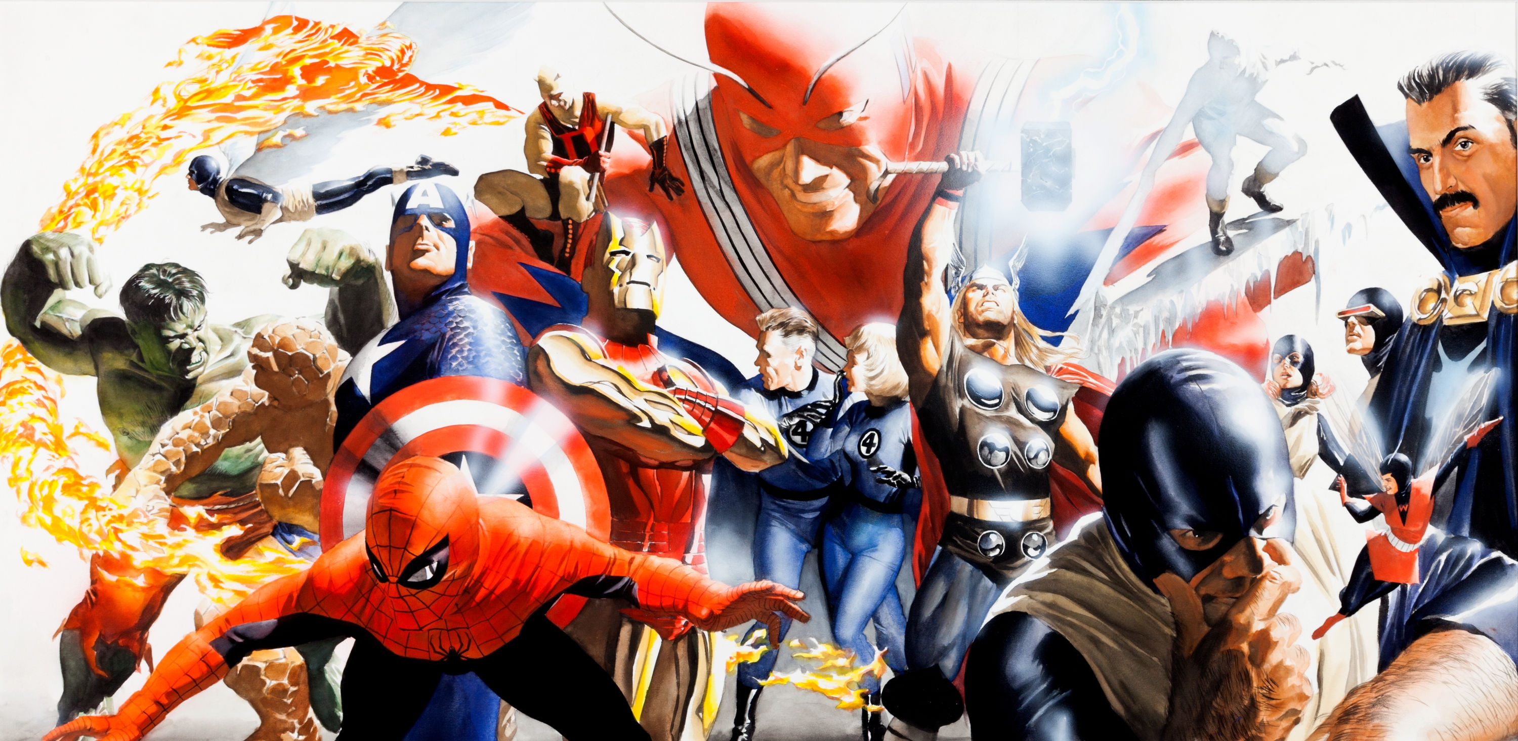alex ross oeuvre marvel