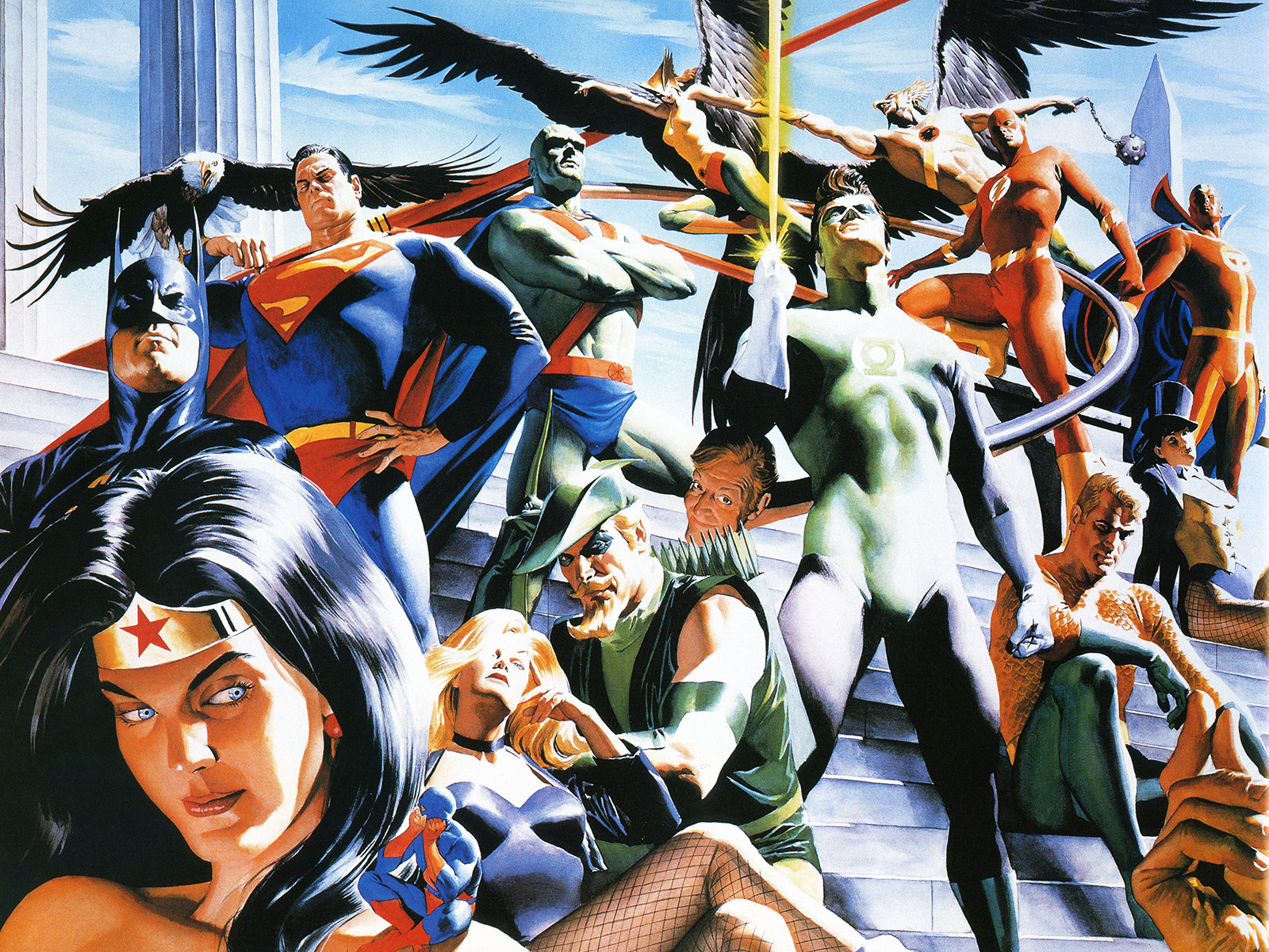 alex ross oeuvre dc comics