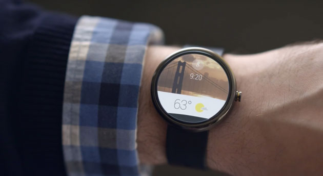 android wear consulter la meteo