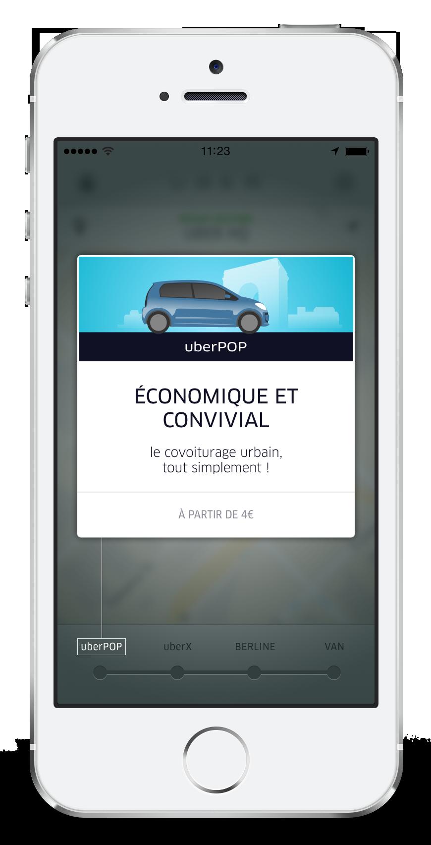 appli uberPOP