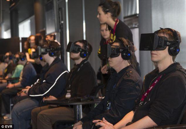 personnes dotées de l'oculus rift