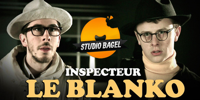 studio bagel inspecteur le blanko video humoristique youtube canal plus