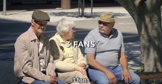 fans coca