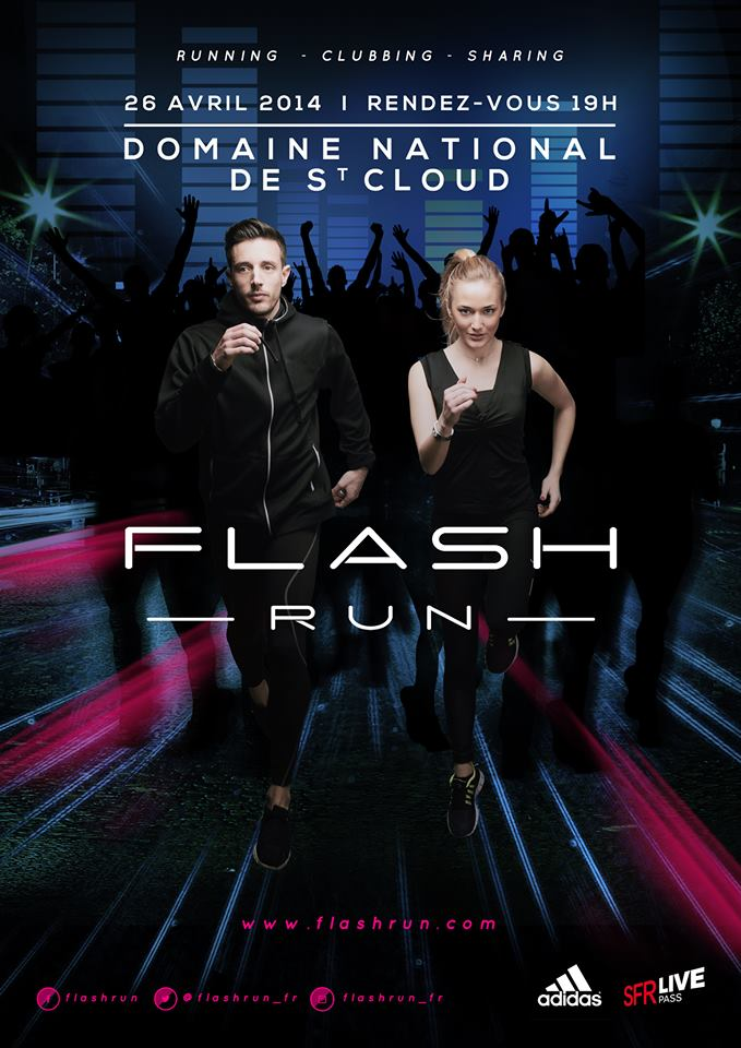 flash run evenement paris
