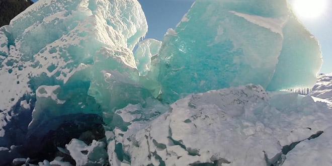 glacier go pro alaska