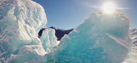 glacier gopro alaska drone