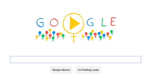 google doodle internationale journee femme