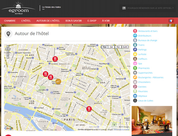 hotellerie conciergerie egroom hotels