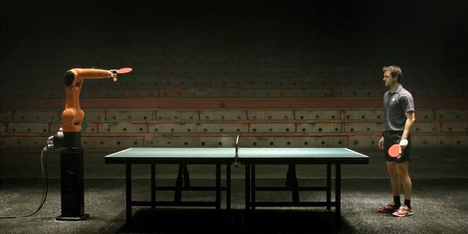 kuka robot match ping pong timo bellkuka robot match ping pong timo bell