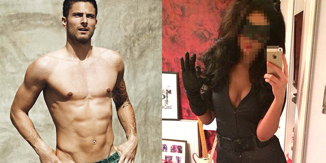 olivier giroud scandal sexe threesome plan a trois