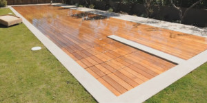 Piscine terrasse - Terrasse amovible sur piscine ...