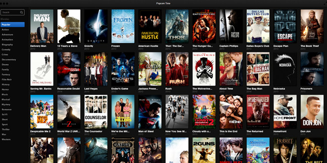 popcorn time films gratuits streaming torrent