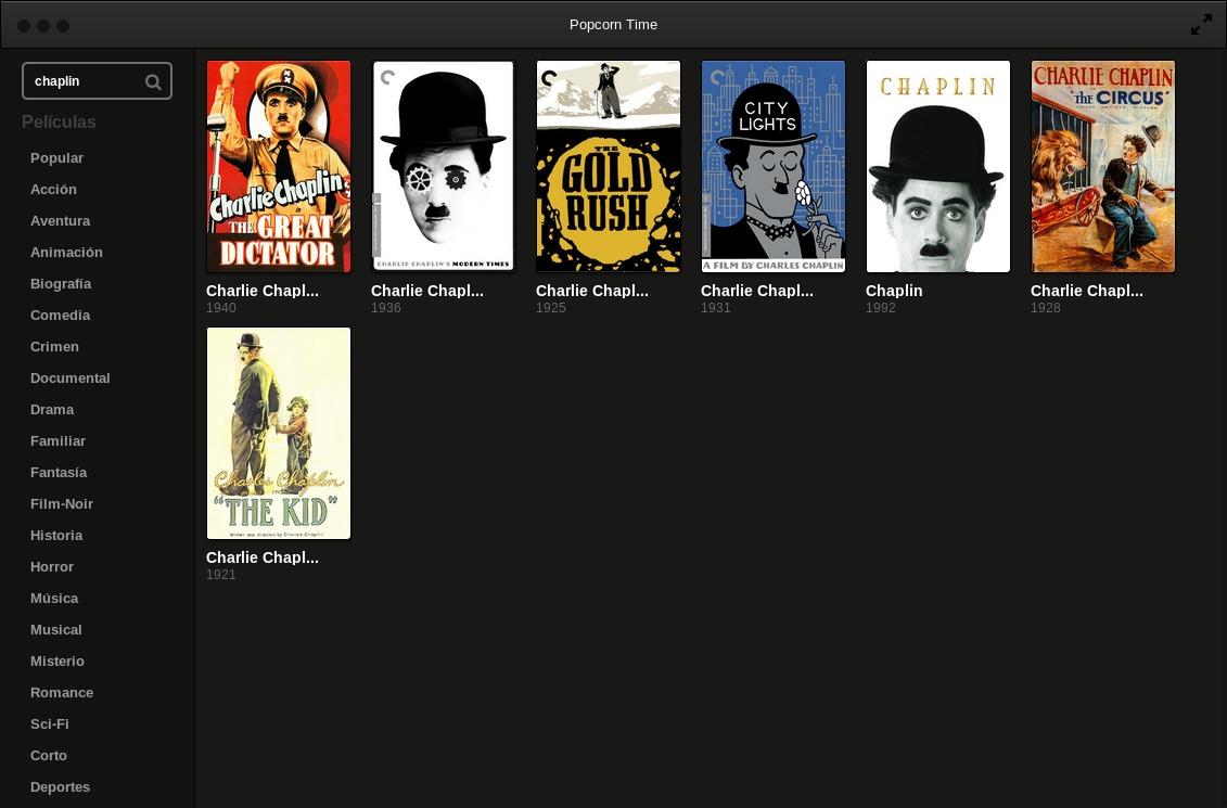 films de charlie chaplin disponibles gratuitement