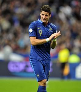 Olivier Giroud selection bleus equipe de france match