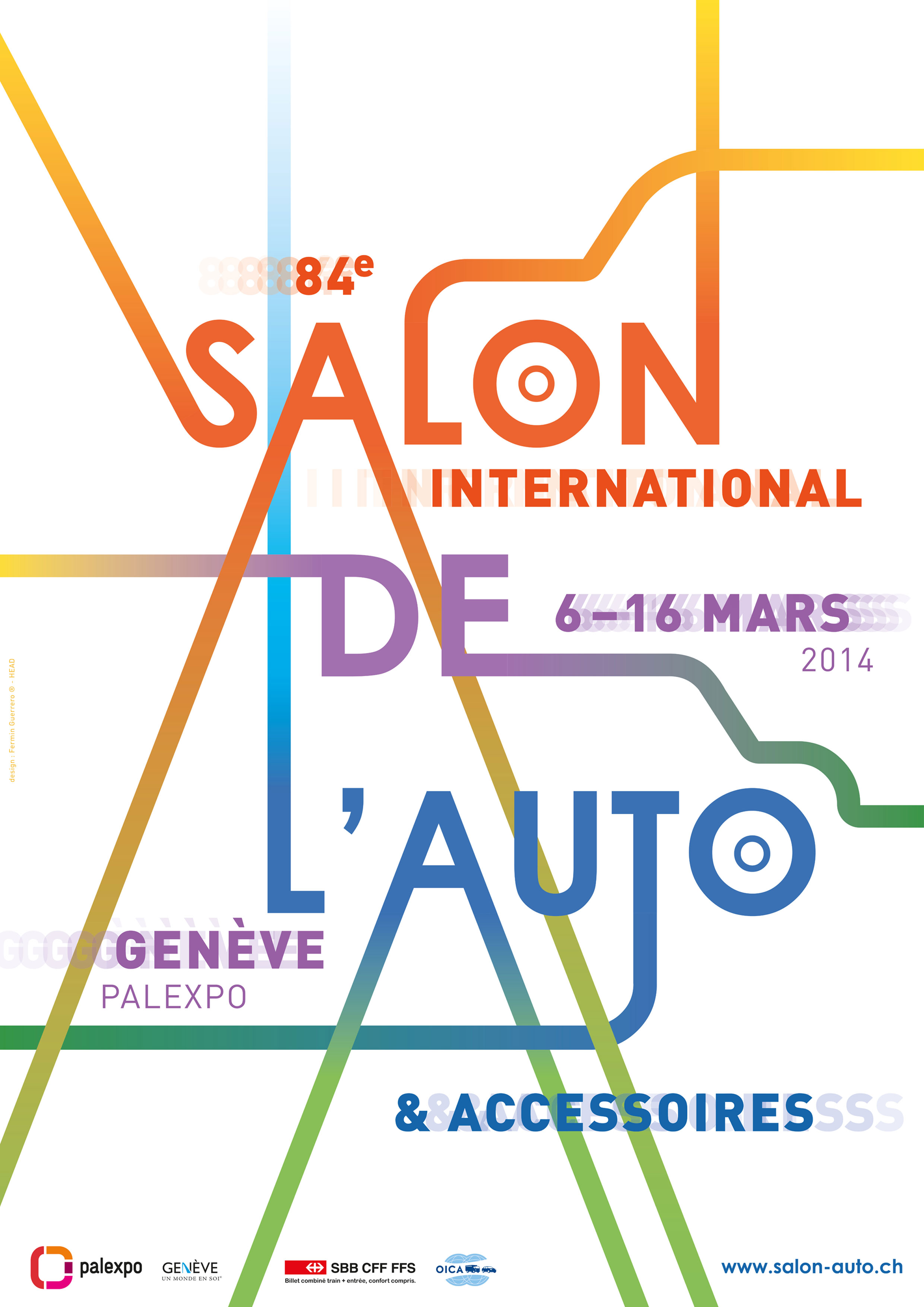 salon auto geneve 2014 affiche