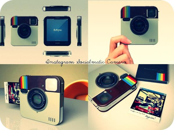socialmatic polaroid instagram appareil photo