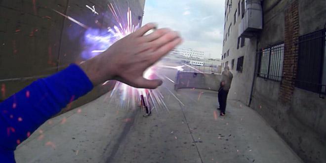 superman go pro feu