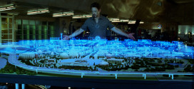 tablette tactile holographique ecran flottant