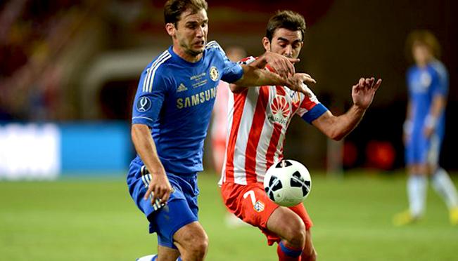 Soccer - UEFA Super Cup - Chelsea v Atletico Madrid - Stade Louis II