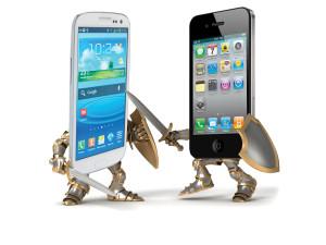 guerre des smartphones