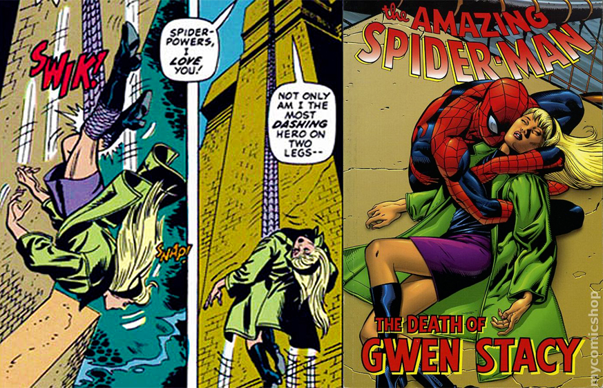 mort gwen stacy
