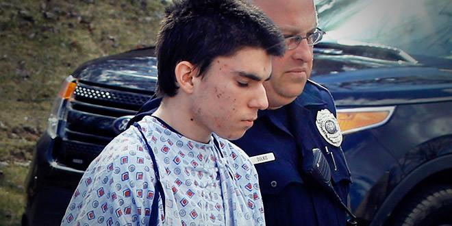 Alex Hribal pittsburg college attaque couteau
