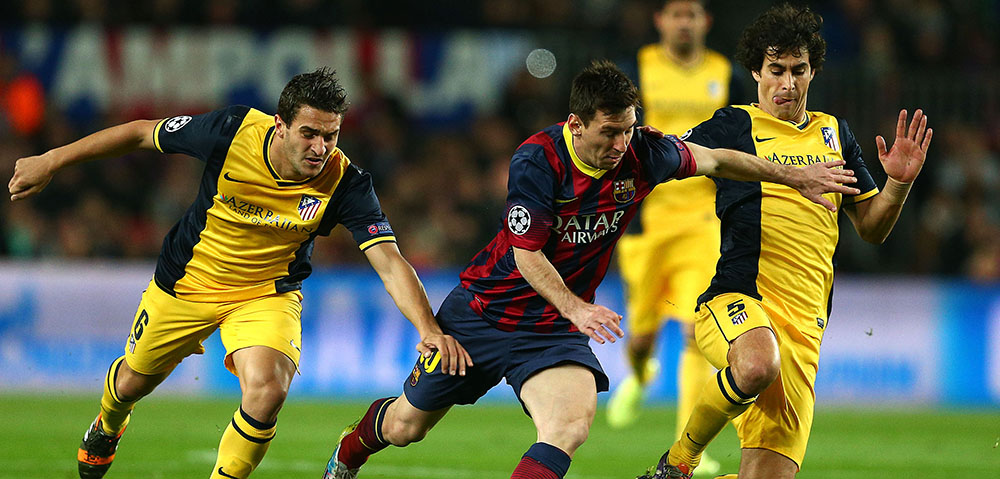 Barcelone vs Atletico Madrid - Ligue des Champions - 1/4 - 01/04/2014