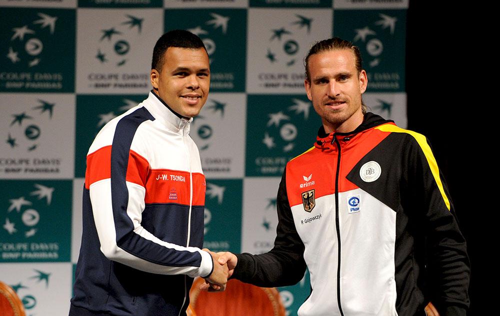 TENNIS : France vs Allemagne - Coupe Davis - 03/04/2014