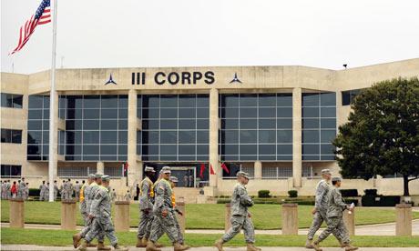 base militaire de fort hood