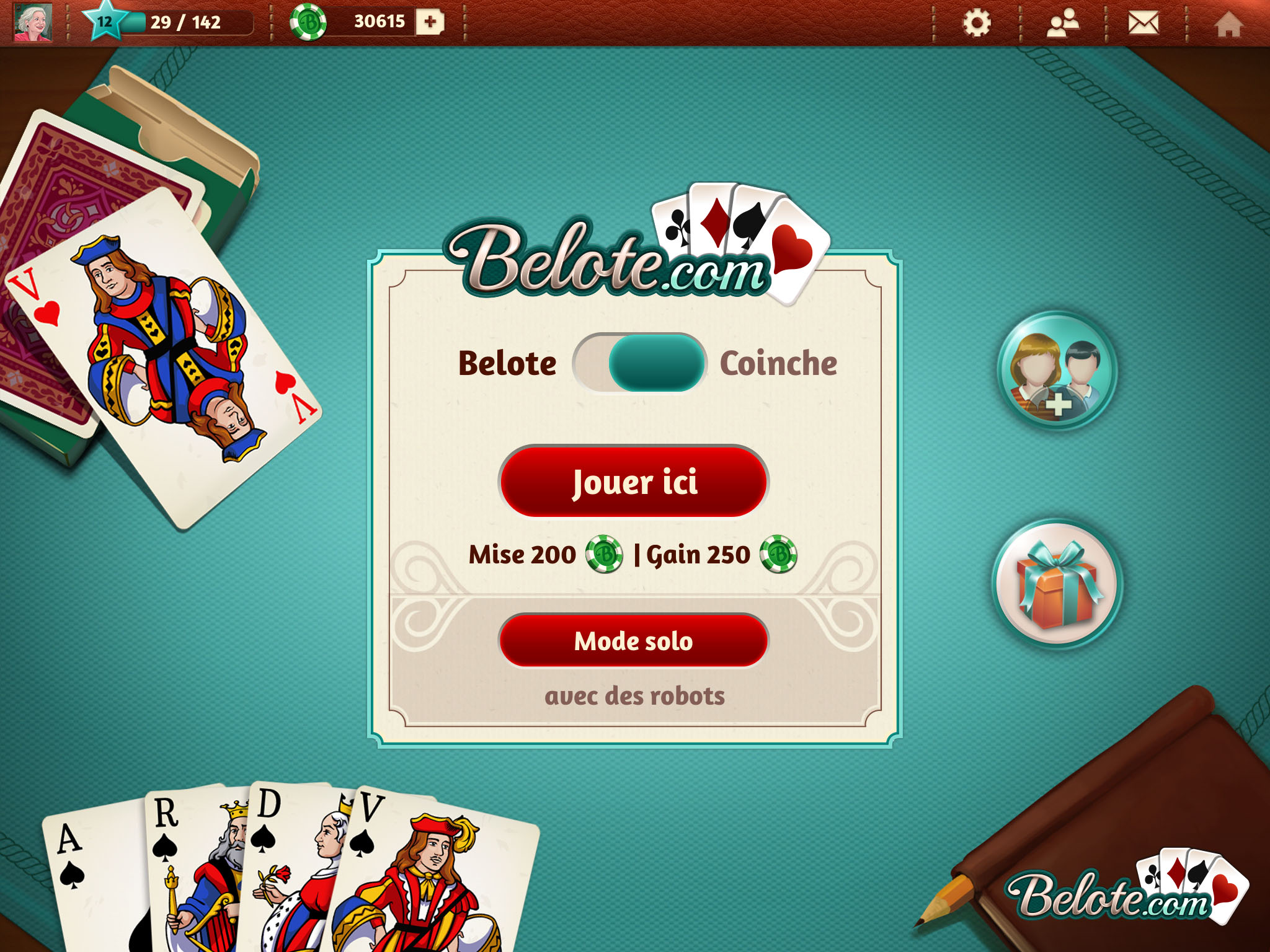 GameDuell app mobile